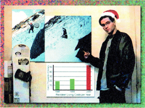 "2001 ""St."" Nick Xmas Card - Alternate Delivery Methods"